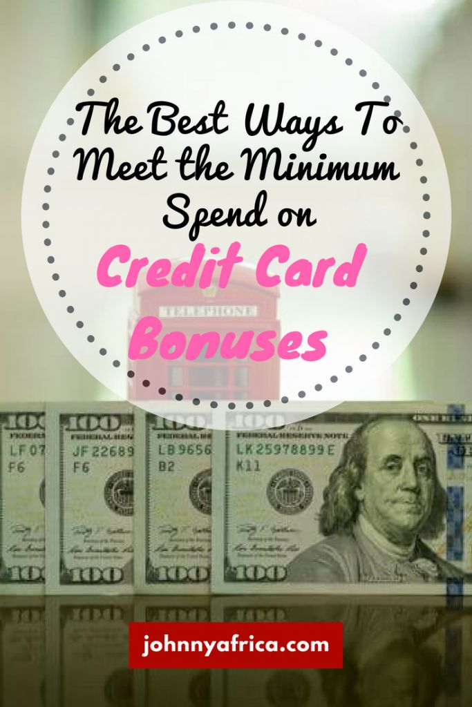 Credit card bonuses are lucrative but there are strict spending requirements like spending $3000 within three months. These are some of the most helpful methods to meet those minimum spending requirements like checking account funding.