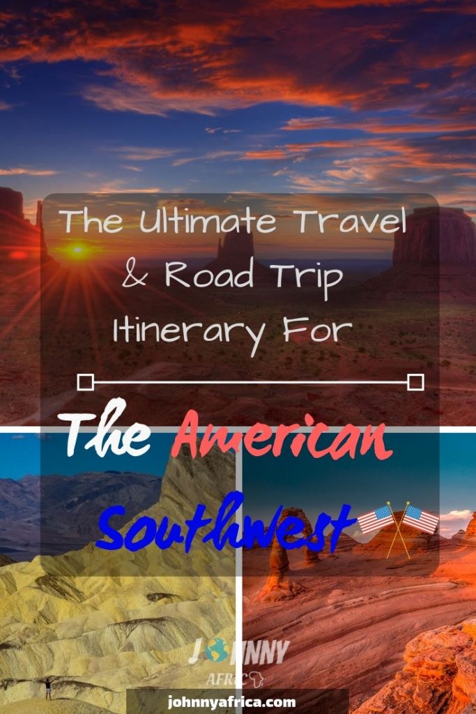 The American Southwest has long been one of the ultimate road trips in the world. I spent a few weeks driving around this amazing landscape and this is my itinerary for visiting all the best national parks in the area. #zion #brycecanyon #grandcanyon #archesnationalpark #moab #canyonlands #monumentvalley #horseshoebend #antelopecanyon #sedona #joshuatree #mojave #deathvalley #southwest #roadtrip #america