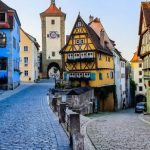 Rothenburg ob der tauber germany medieval fairy tale town